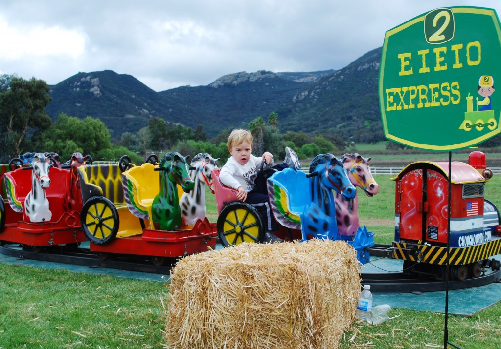 Pint-Sized Kiddie Rides for Los Angeles Children's Parties