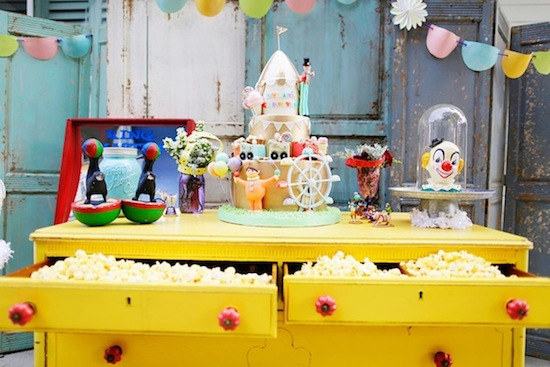 Vintage Carnival Theme Party for Kids