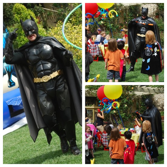 los angeles batman birthday party