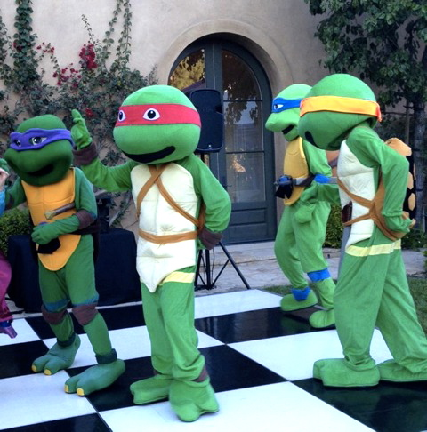 los angeles ninja turtles performers