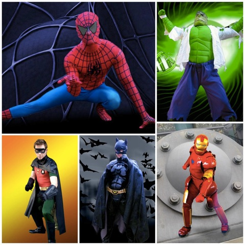 los-angeles-superhero-party-characters