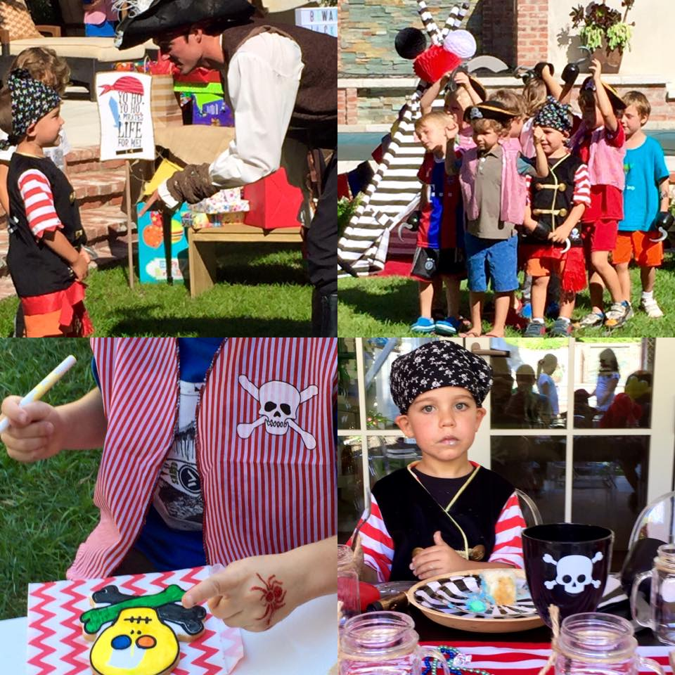 activities and entertainment for children's parties