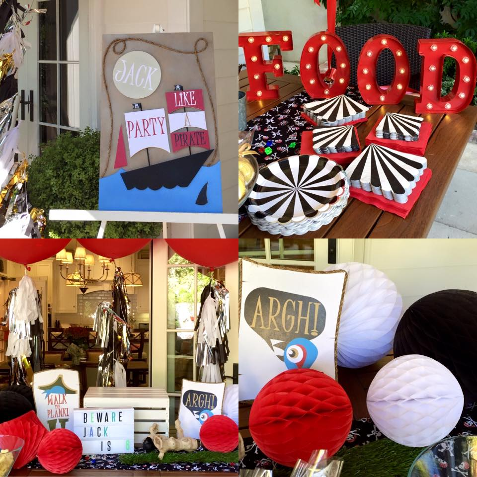party goods and decor