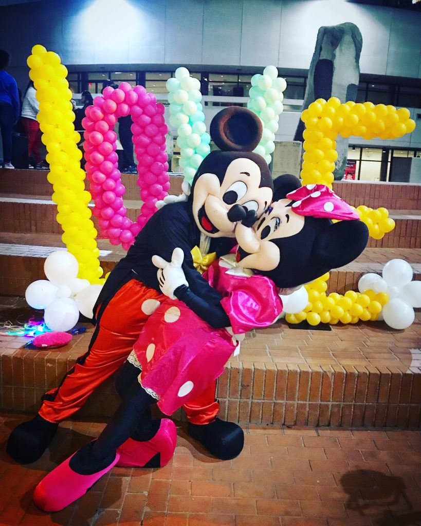 Mickey and Minnie Disney Characters