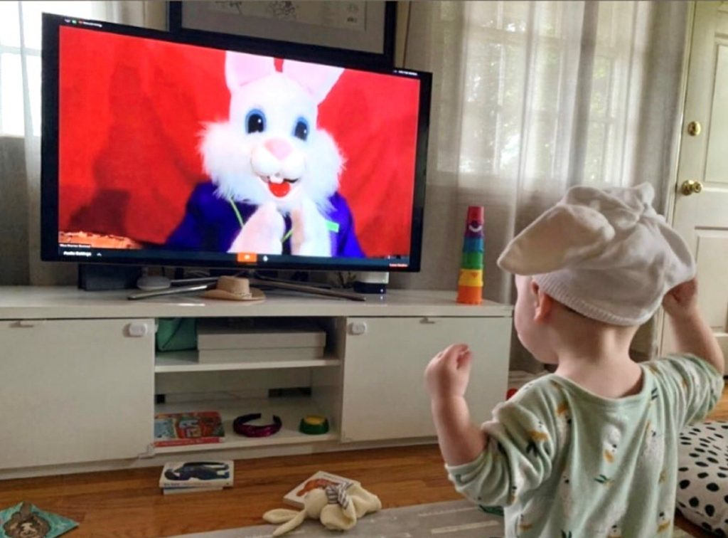Virtual Easter Bunny Visit